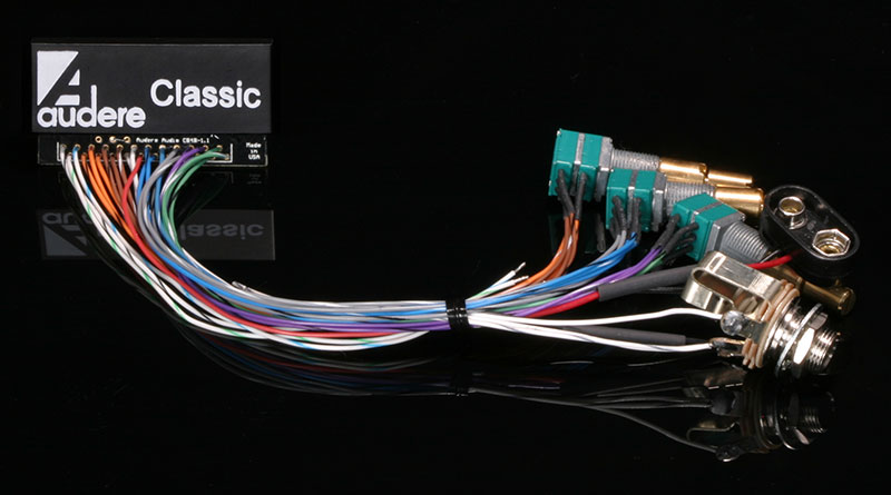Classic2 Wired HighKey Black 800 audere audio classic preamps audere preamp wiring diagram at creativeand.co