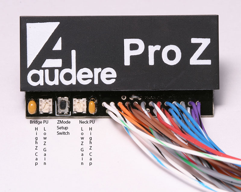 Pro Z Labelled white audere audio pro z preamp audere preamp wiring diagram at mifinder.co