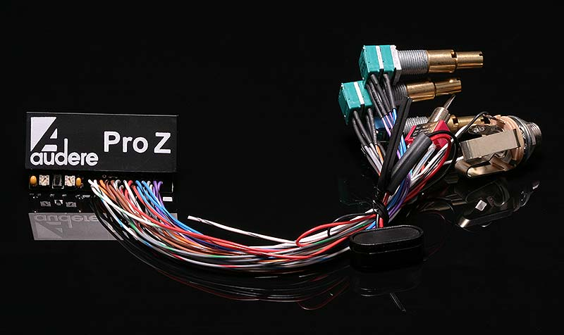 Pro Z Wired HighKey Black 800 audere audio pro z preamp audere preamp wiring diagram at bayanpartner.co